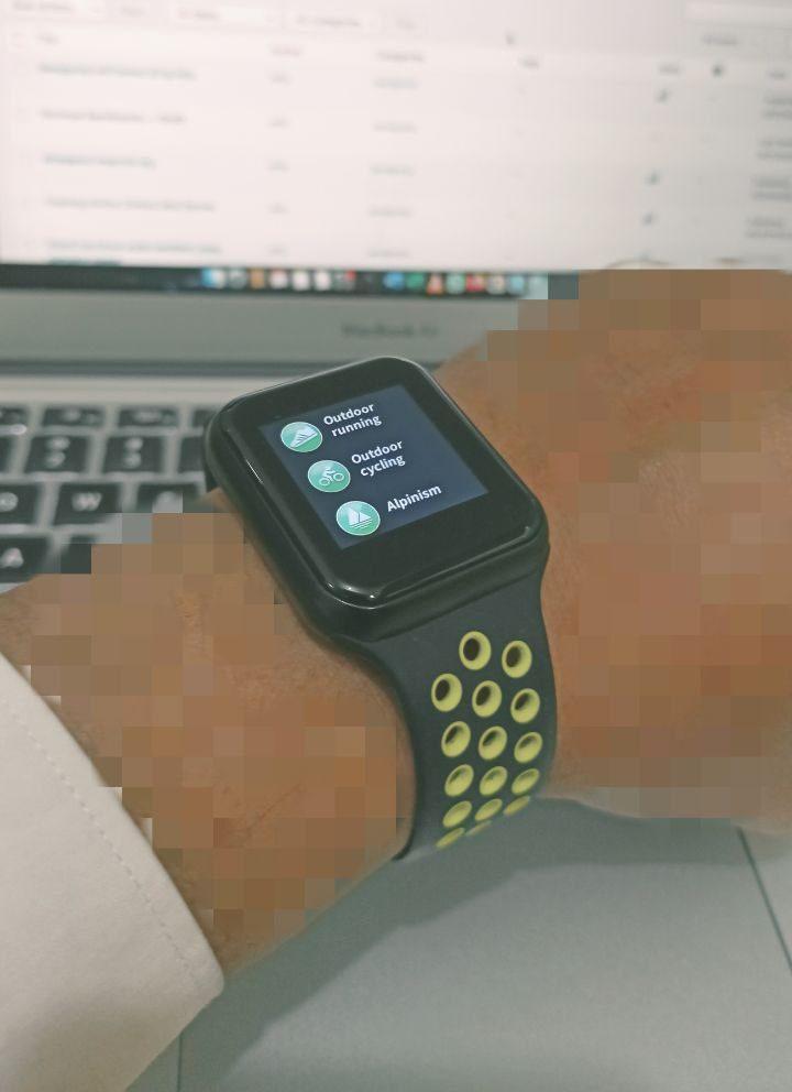 Review Smartwatch F8 F9 Nike Sport 1.3