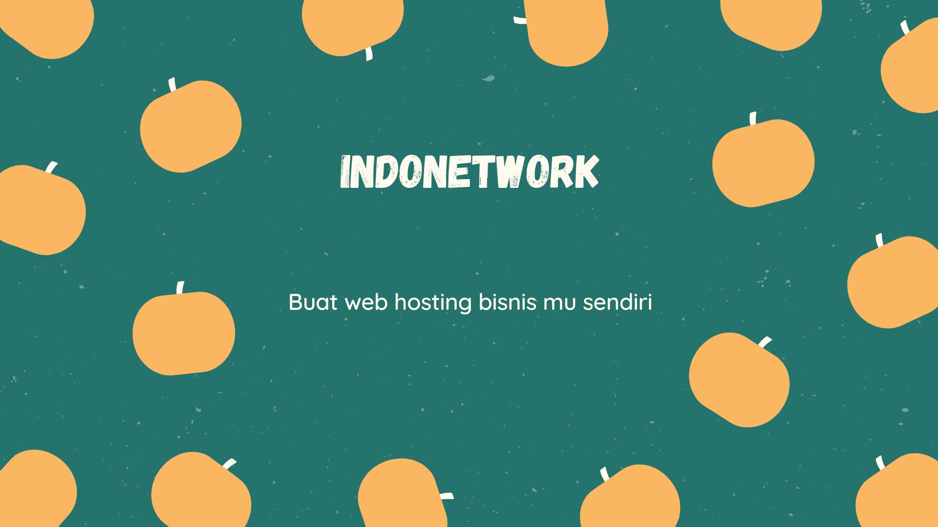 Webinar Indonetwork