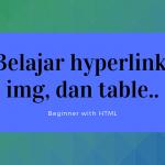 Mencoba praktek HTML untuk pemula part 3